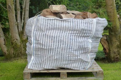 Hardwood Logs Bulk Bag