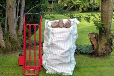 Hardwood Logs Barrow Bag